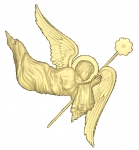 Ангелы резные
