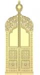 Царские врата, диаконские двери