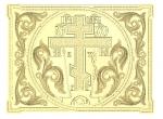 A112 резное панно с крестом