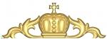 E03 Верхний элемент с кроной и крестом