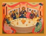 ПР23 Икона печатная Тайная Вечеря