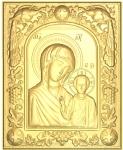 Резная икона Казанская Божиья Матерь