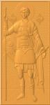 Икона резная Георгий Победоносец Вариант 2