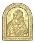 Икона резная Донская Богородица Вариант 1