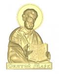 Резная икона Святой Марк Вариант1