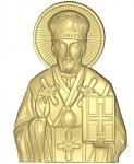 Резная икона Николай Чудотворец Вариант 4