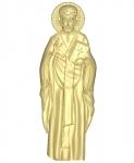 Резная икона Николай Чудотворец Вариант 6