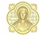 Резная икона Святая мученица Ирина