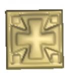 Крест резной 101