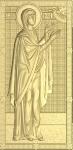 Резная икона Святая Анна Пророчица