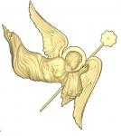 Ангел резной Вариант 3