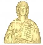 Икона Резная Святая Наталья