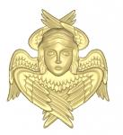 Ангел резной Вариант 6
