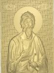 Резная икона Апостол Андрей Первозванный