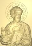 Резная икона Апостол Лука (Евангелист)