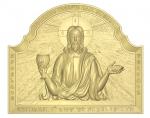 Резная икона Иисус Хрстос