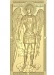 Резная икона Архангел Михаил мерная Вариант3