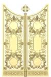 Царские врата резные  Вариант2