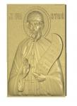 Резная икона Святой преподобный Виталий
