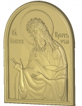 Резная икона Иоанн Креститель