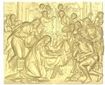 Икона резная Рождество Христово Вариант2