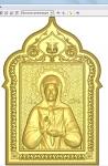 Резная икона Матрона Московская Вариант 3