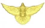Голубь резной Вариант 4 Святой дух