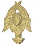 iko18-001 Шестикрылый Серафим резной из дерева