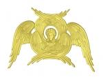 rpc005 Резной Серафим шестикрылый Византия